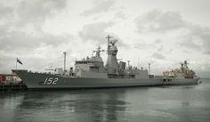 HMAS Warramunga completes anti-ship missile defence upgrade programme