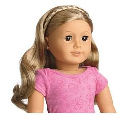 Try the most beautiful hairstyles on your American Girl doll. Here are 40 exclusive American Girl Doll hairstyle ideas to give your doll a new look. American Girl Doll Julie, American Girl Crafts, American Girls, Peinados American Girl, American Girl Hairstyles, Ag Doll Hairstyles, Headband Hairstyles, Ag Dolls, Girl Dolls