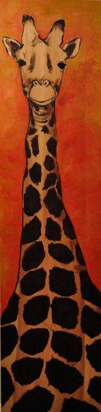 Giraffe Art Print by visuallynatasha   Society6