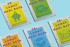 Hari Raya Aidilfitri — Money Packets Design 2017 on Behance