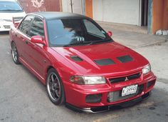Jerry's ride is 1996 Mitsubishi Evolution III out of Antigua. Jerry has owned his evo for 3 years and is presently working on improving its' performance as well Mitsubishi Cars, Subaru Cars, Jdm Cars, Lancer Gsr, Mitsubishi Lancer Evolution, Rally Car, Cars And Motorcycles, Cool Cars, Vroom Vroom