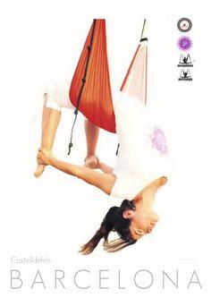 AeroYoga® en Prensa: Barcelona, Aum Yoga Studio Cumple un Año!