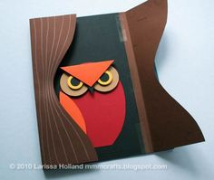 3D Paper Owl from mmmcrafts