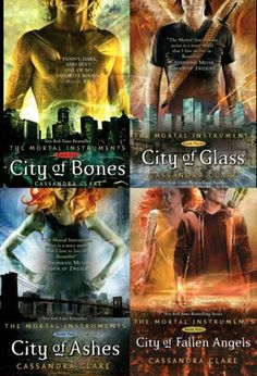 The Mortal Instruments..not written for people my age, but it's my new favorite book series!