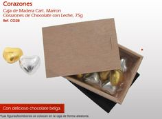 ¡Corazones de chocolate para su amor! ¡No pierdas tiempo y sorpresa! Container, 1, Chocolate Hearts, Wooden Chest, Bonbon, Amor, Weather, Different Types Of, Shapes