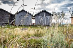 The 40 small fishing huts on this island off Finland's coast are still there but it's been a long time since they were all occupied. Finland Travel, Birches, Next Holiday, Helsinki, What Is Like, Scandinavian Design, Travel Around, Live Life, Islands