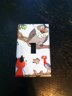Fox and the Hound Light Swich Cover