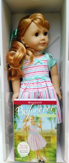 American Girl 1954 she looks wwaaaayyy too much like a truly me doll ( my doll brienne in my case )