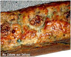 Cake salé roquefort et noix | La cuisine de Djouza recettes faciles et rapides