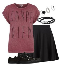 """Carpe Diem☆"" by deliag ❤ liked on Polyvore featuring Dorothy Perkins, Converse, Tai, Miss Selfridge, women's clothing, women's fashion, women, female, woman and misses"