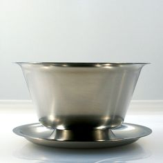 Vintage Stainless Steel 18-8 Gravy Boat by by Flourisheshome ***ALSO SEE Vintage Jewelry at: http://MyClassicJewelry.com/shop