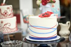 Red White and Blue Wedding Ideas - Memorial Day Wedding
