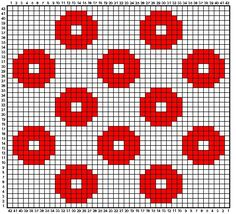 Option For Tiled Quilt - Knitting - Fo Option - Diy Crafts - Qoster Crochet Potholders, Crochet Quilt, Crochet Blocks, Crochet Chart, Filet Crochet, Crochet Motif, Crochet Home, Tapestry Crochet Patterns, Crochet Stitches Patterns