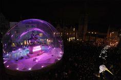 Durham Lumiere Life size snow globe
