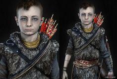 Atreus Render from God of War