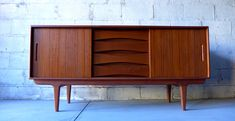 Mid Century Modern CREDENZA media stand by CIRCA60 on Etsy https://www.etsy.com/listing/242569377/mid-century-modern-credenza-media-stand