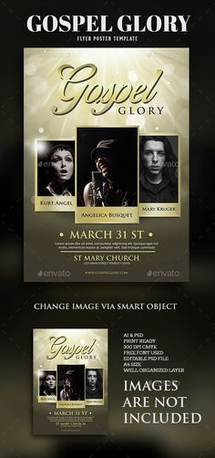 gospel live concert flyer pinterest concert flyer flyer template and template
