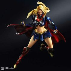 Play Arts Kai SuperGirl 4