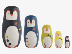 Russian doll penguin-love both nesting dolls ans penguins!! It's perfect!