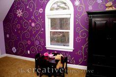 Girls Rooms Painting Ideas | ... bedroom idea painting a girls room purple paint bedroom ideas girls