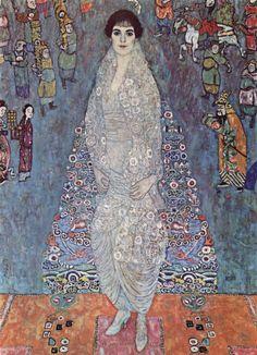 Portrait of Baroness Elisabeth Bachofen-Echt, 1914-1916 - Gustav Klimt