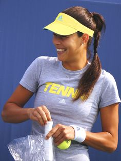 Ana Ivanovic at the US Open 2013 #WTA #Ivanovic #USOpen