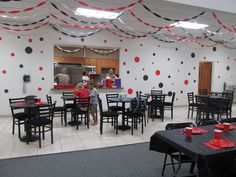 Decorations for my ladybugs 1st bday party!