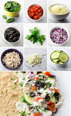 You will definitely have to try these greek quesadillas for a healthy lunch!