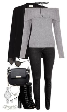 """""""Sem título #1135"""" by manoella-f on Polyvore featuring moda, American Vintage, H&M, New Look, French Connection, Aamaya by Priyanka, Barbara Bui, Yves Saint Laurent, RetroSuperFuture e Kate Spade"""