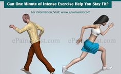 Can One Minute of Intense Exercise Help You Stay Fit?
