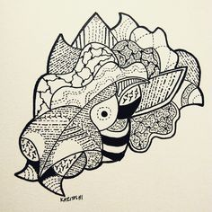 Have a good Monday. #draw #art #sketch #doodle #blackandwhite #ink #inkandpaper #dotsandlines #staedtler #sharpie