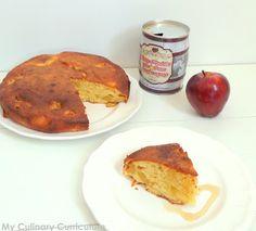 My Culinary Curriculum: Gâteau aux pommes caramélisées au sirop d'érable (...