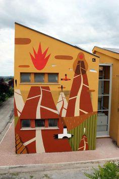 New Agostino Lacurci Mural in Arce, Italy: 10369892_714793561918895_1656177800724725121_n.jpg