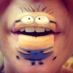 Any plans for Halloween yet? Check out this step-by-step guide to creating fantastic MINION lip art design by Laura Jenkinson!