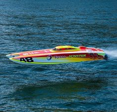 Offshore Racing full blast!