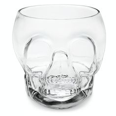 Large Glass Skull Punch Bowl #williamssonoma