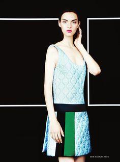 Magda Laguinge by Erik Madigan Heck for Harper's Bazaar UK November 2014 1