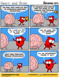 The awkward yeti comics. Brain comes up with an idea for taxes that is clearly not going to work. Theawkwardyeti.com