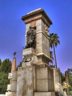 Córdoba - Monumento a Julio Romero de Torres.