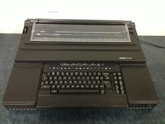 Olivetti ETV 240 Typewriter Word Processor.