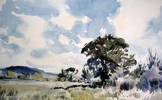 Jem Bowden - The Watercolour Log: Watercolour Paintings (8)