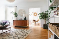 Our designer Heidi's SF home is the perfect mix of high and low, old and new…