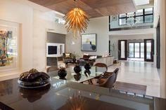 Modern, striking home in Florida.