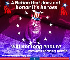 Cat Chat With Caren And Cody: Memorial Day 2015
