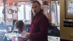 Robert Carlyle plays a murderous barber in 'The Legend of Barney Thomson'