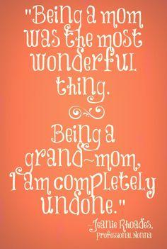 Love my grandchild...