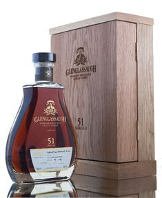 Glenglassaugh 51 Year Old. Distilled in 1963 single cask #3301, a bourbon barrel was filled 15th February 1963 and left to slumber for an incredible 51 years. Price: £4,500.00