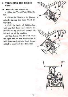 white rotary sewing machine manual free