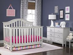 Fisher-Price Kingsport 5-in-1 Convertible Crib, Misty Grey  http://www.babystoreshop.com/fisher-price-kingsport-5-in-1-convertible-crib-misty-grey-3/