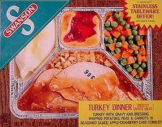 Swanson Frozen TV Dinner